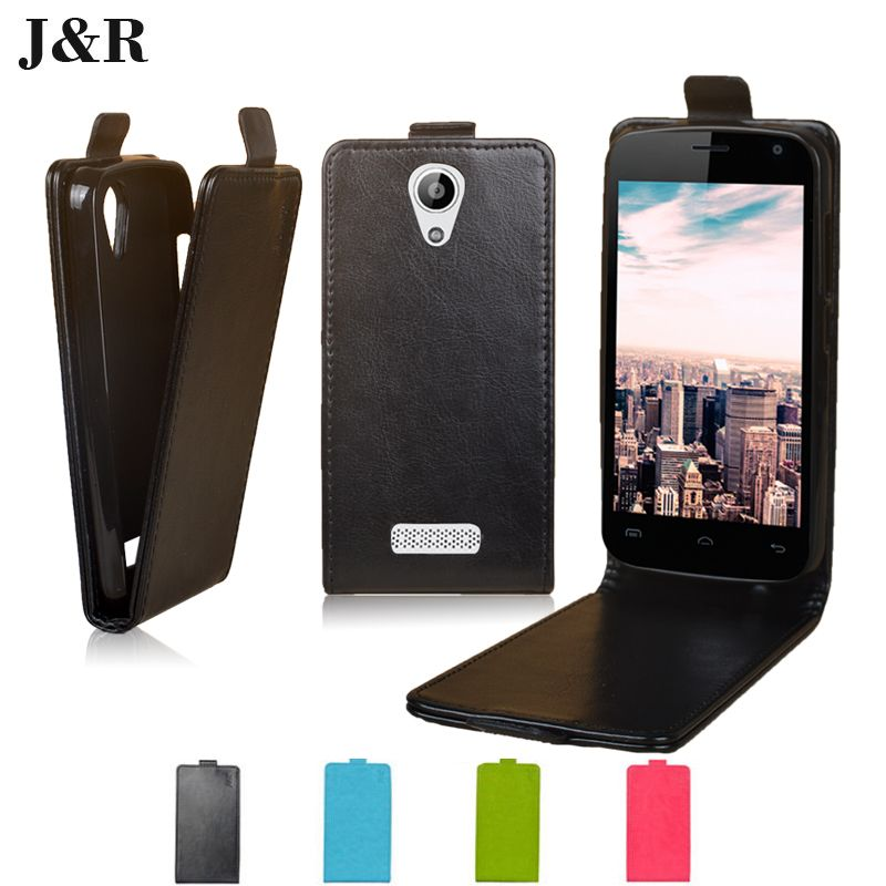 For Doogee X3 Case Cover Luxury Open Up Down Flip Pu leather case for Doogee X3 4.5 Inch Cover Skin Sheer Bags 9 Colors