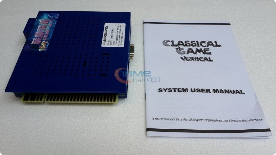 Nouvelle Arrivée Jeu elf 412 en 1 vertical Classique Multi jeux Jamma PCB pour Cocktail Arcade Machine Coin Jeu de L'opérateur Cabniet