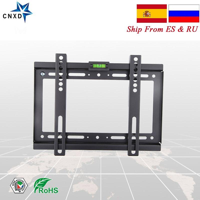 Support mural universel pour TV fixe support d'écran plat HDTV support fixe pour TV 14 ''17'' 19 ''22'' 25 ''28'' 29 ''32''