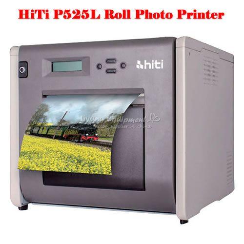 Tragbare HiTi P525L Rolle Foto Drucker mit beeindruckenden druckgeschwindigkeiten