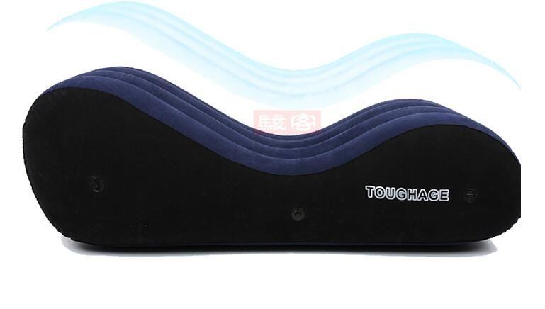 Chaise gonflable portative de luxe d'oreiller de hardage lit adulte de sexe utile coussin de Sofa de sexe adulte meubles d'amusement de sexe adulte PF3207