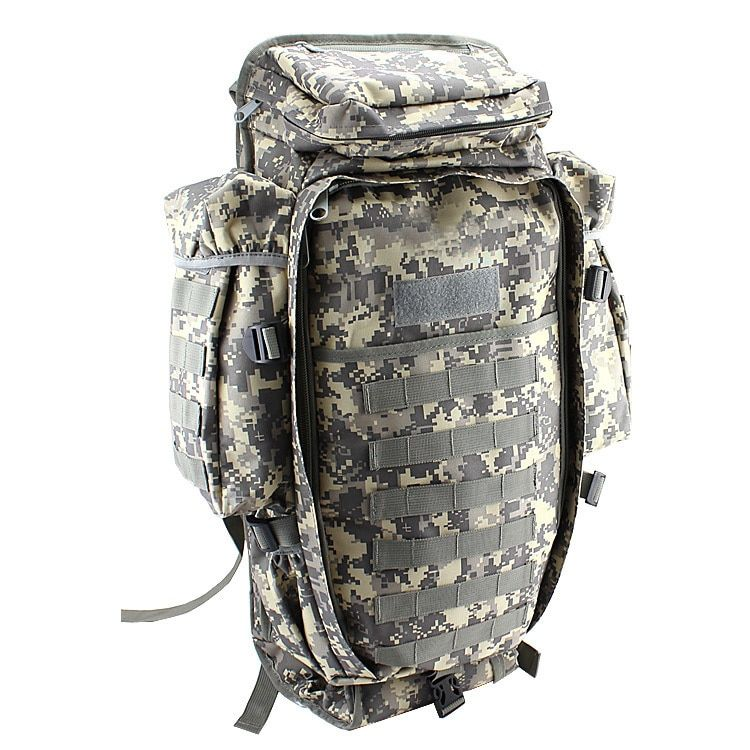 Men Women Military Tactical Hiking Rifle Bag Trekking Unisex Travel Camping Outdoor Sport Backpack Rucksacks Climbing Bags