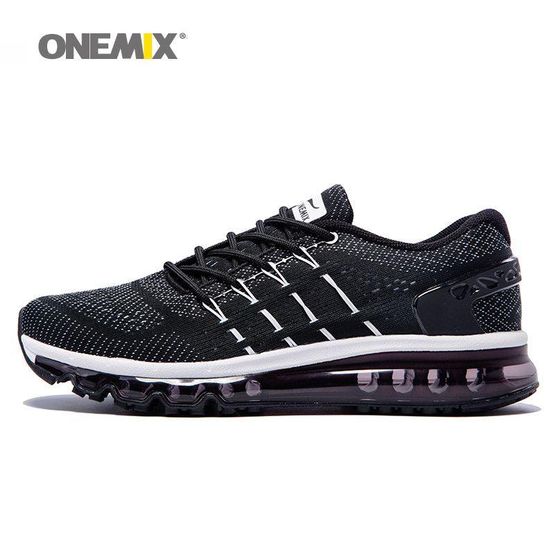 ONEMIX men running shoes unique shoe tongue design breathable sport shoes big size 47 outdoor sneakers zapatos de hombre