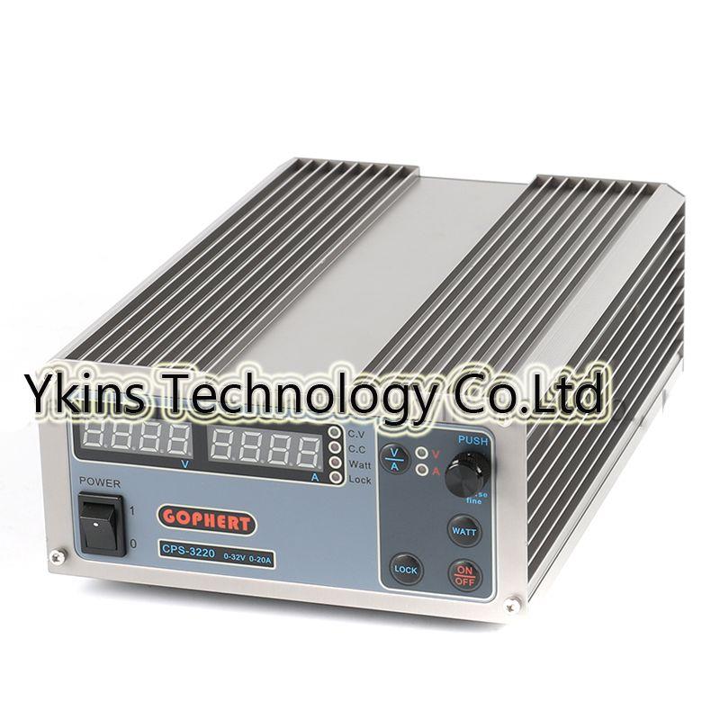 Neue upgrade Kompakte Digital Einstellbare Dc-netzteil OVP/OCP/OTP MCU Aktive PFC 32V32A 170 V-264 V + EU + Kabel