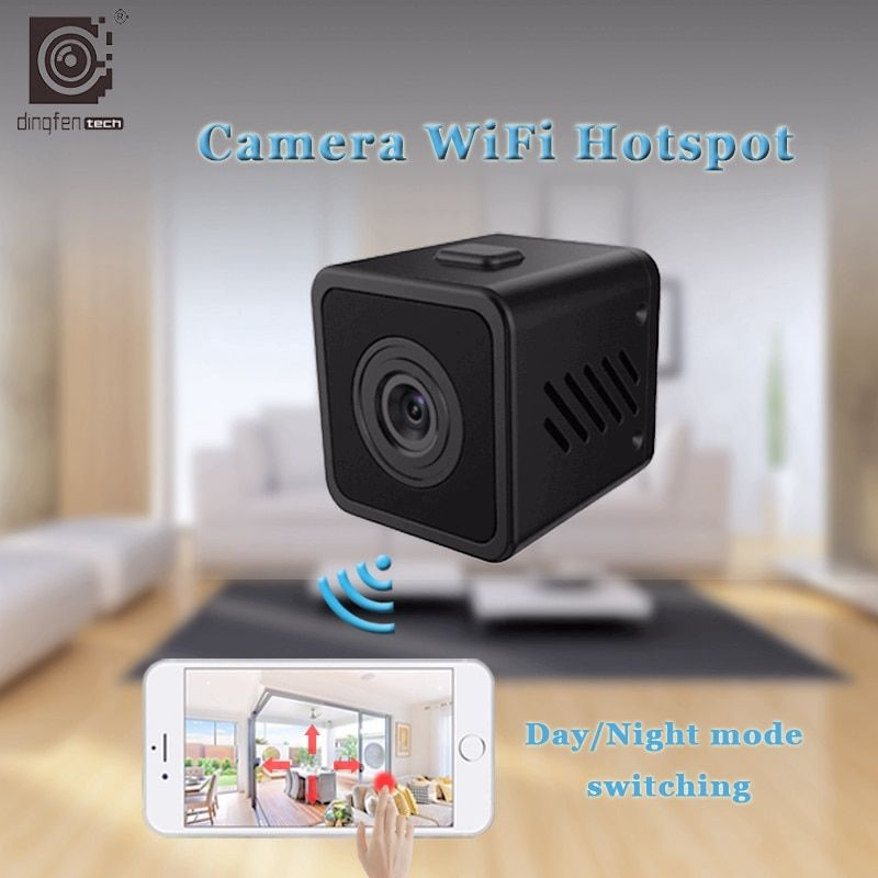 HD небольшой мини Cam Беспроводной Wi-Fi IP Камера ИК-Ночное видение Wi-Fi охранных Камера S Видеоняни и радионяни открытый micro видеокамера