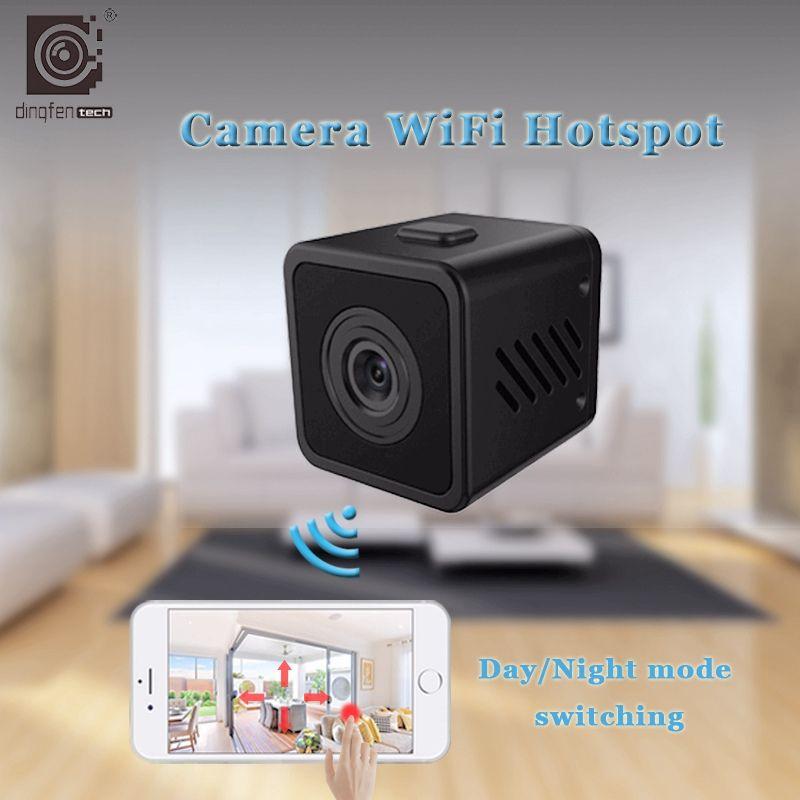 HD Kleine Mini Cam Wireless Wifi Ip-kamera Ir-schnitt-nachtsicht wi-fi Home Security Kameras Baby-Monitor Außen Micro Camcorder