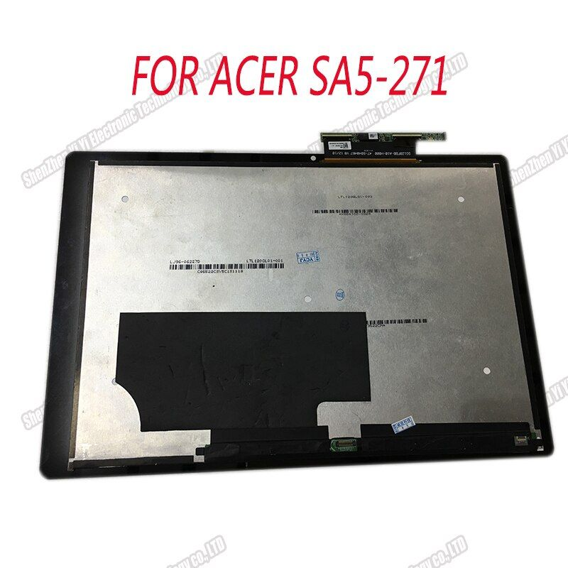 Neue Original lcd display montage für ACER SA5-271 Schalter Alpha 12 Touch display N16P3