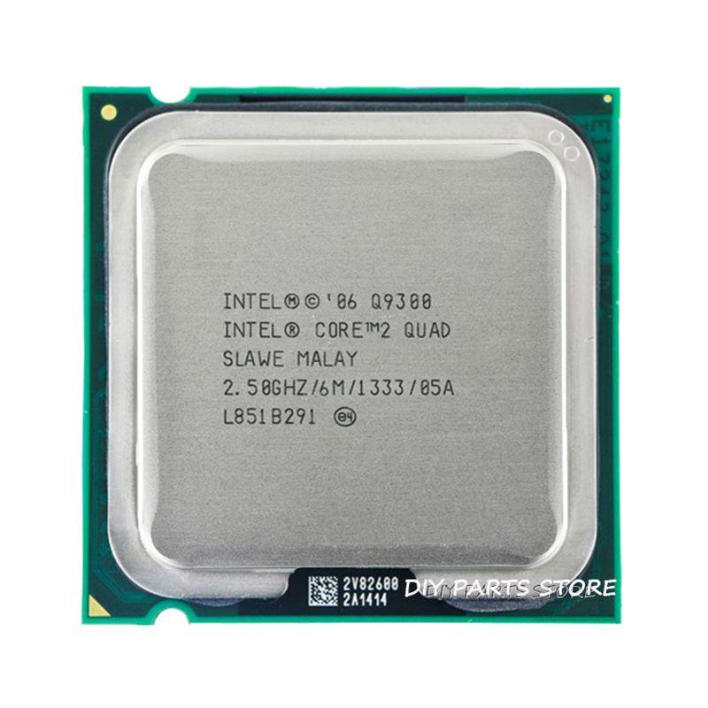 Processeur d'unité centrale 4 cœurs INTEL core 2 Quad Q9300 2.5 Ghz/6 M/1333 GHz) Socket LGA 775