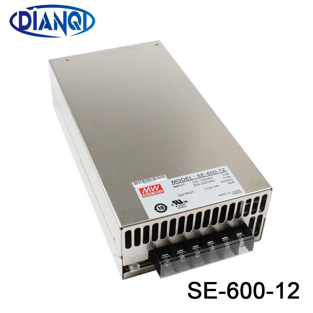 Original MEAN WELL macht suply einheit ac dc netzteil 600 watt 12 v 50A 15 v 40A 24 v 25A 36 v 16.6A 48 v 12.5A MEANWELL