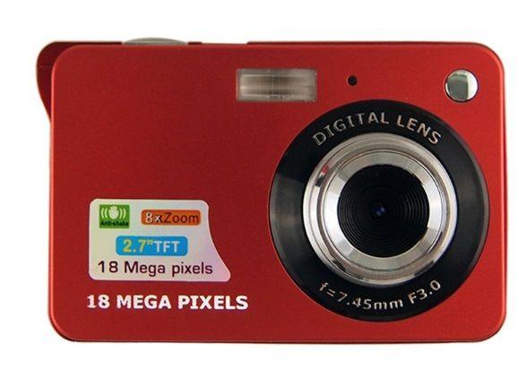 Amkov Mini Digital Camera 8x Digital Zoom Digital Photo Frame 2.7