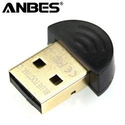 ANBES Dual Mode Sans Fil Dongle RSE 4.0 Mini USB Bluetooth Dongle adaptateur V4.0 Pour PC Portable Win Xp Win7/8 téléphone USB Adaptateur