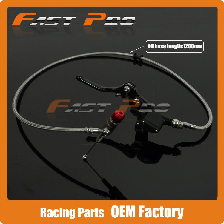 1200mm Hydraulic Clutch Lever Master Cylinder For CRF250 KX250F YZ250F RMZ250 KX250F Vertical Engine Motorcycle Pit Dirt Bike