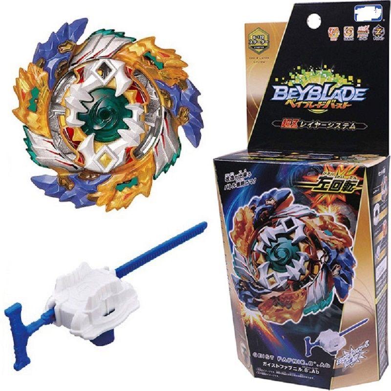 Original Launchers Beyblade Burst B-122 metal toupie bayblade burst kids fafnir bey blade blades toys