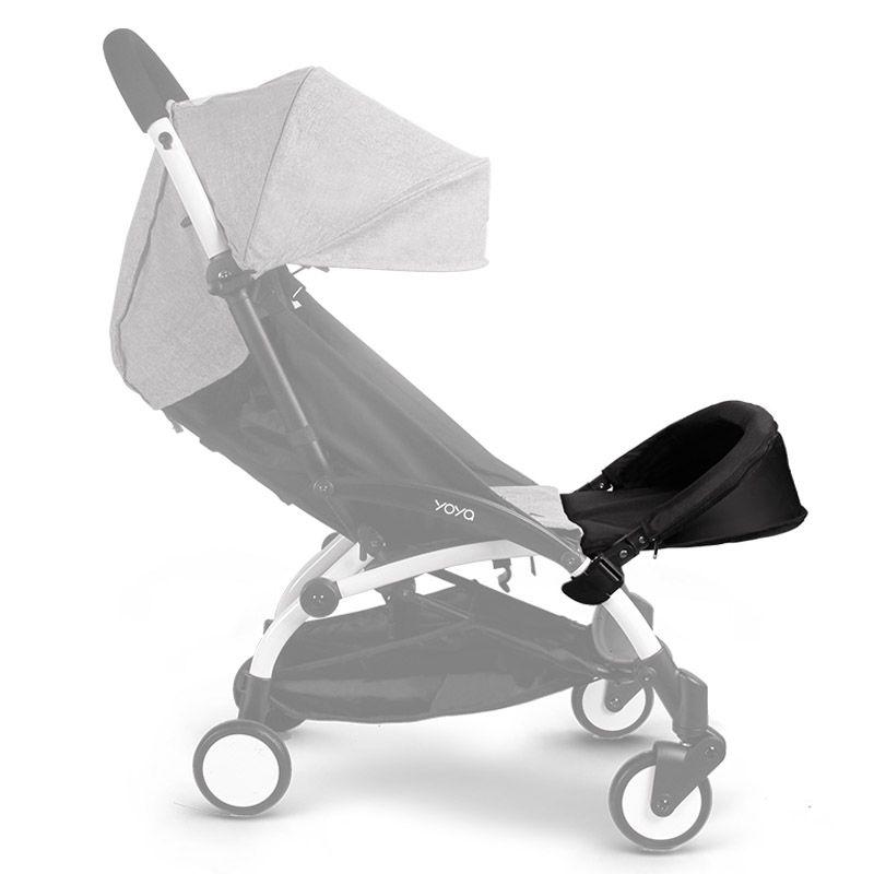 32cm Extended footboard Baby Stroller Accessories For Babyyoya Babyzen Yoyo Vovo Babytime Babyyoya Stroller Rest Foot
