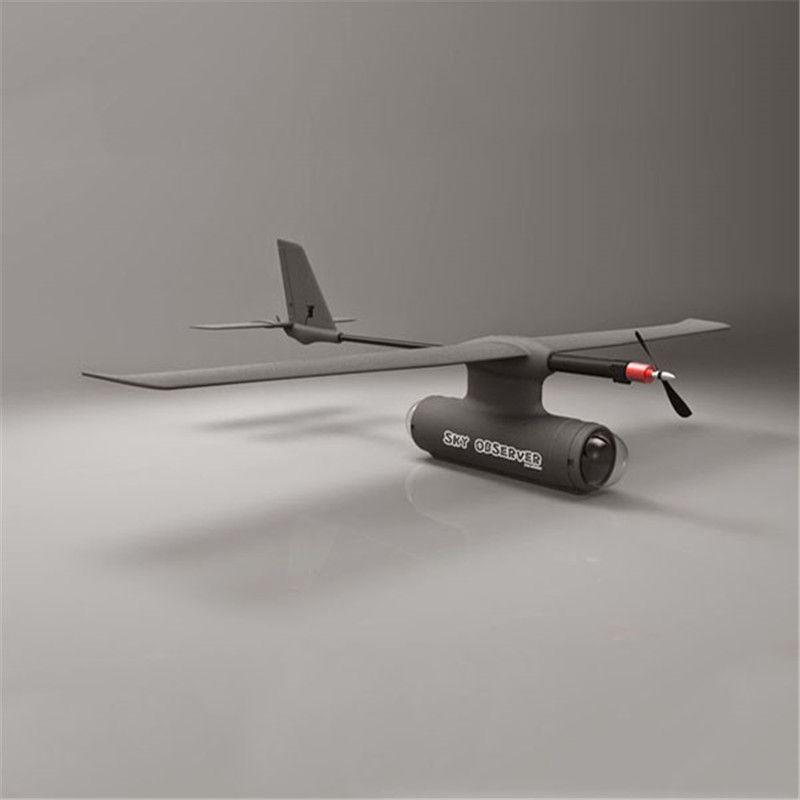 Zeta Sky Observer Sky Lerche 2 mt Spannweite Long Range FPV RC Flugzeug Kit