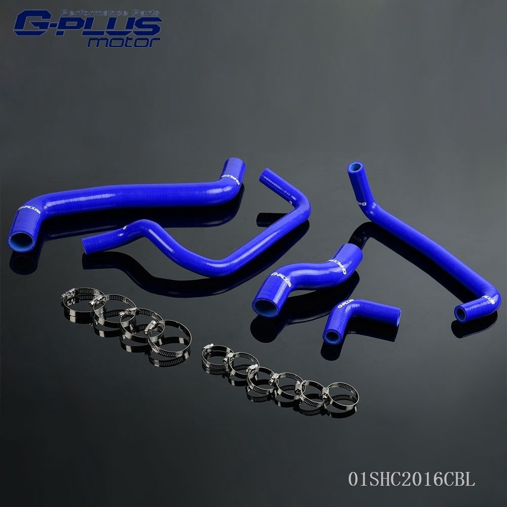 Silicone Radiator Hose Kit Fit For 95-00 TOYOTA LEVIN AE111/AE101G 4A-GE 20V