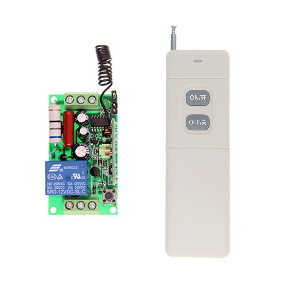 3000 mt High Power AC 220 v 110 v 1 CH 1CH RF Drahtlose Fernbedienung LED Glühbirne Schalter system, sender + Empfänger, Verriegelt