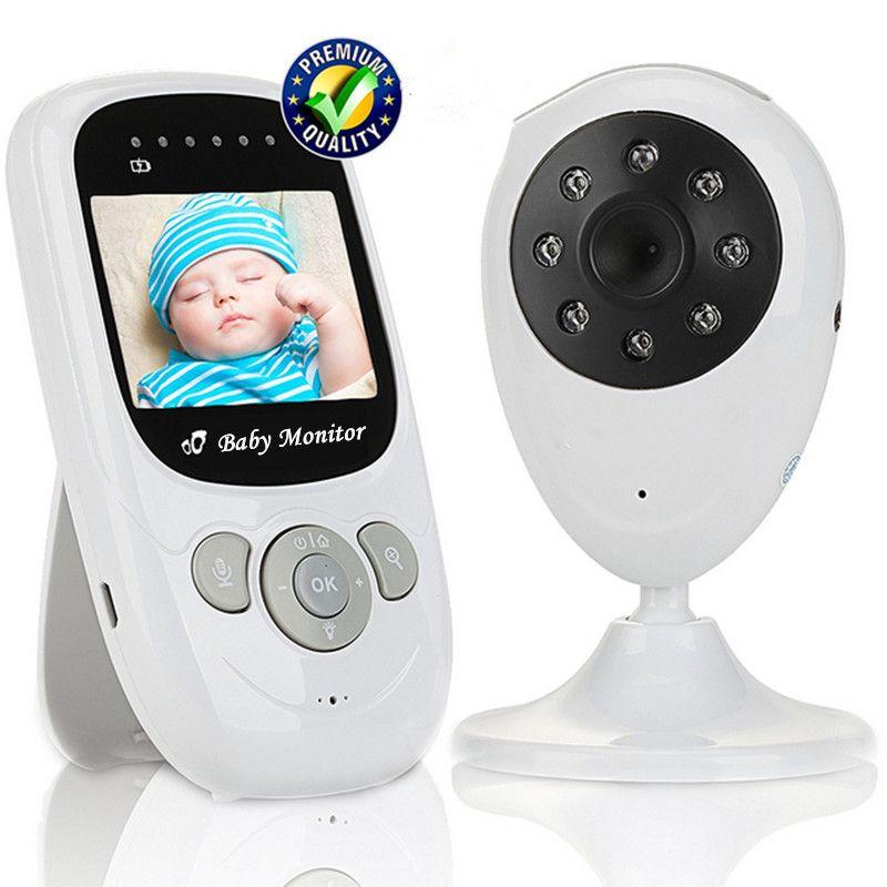 Bebé Monitores digital seguridad inalámbrica bebé cámara de alta resolución Radios niñera TFT LCD audio video de dos vías Talk noche visión