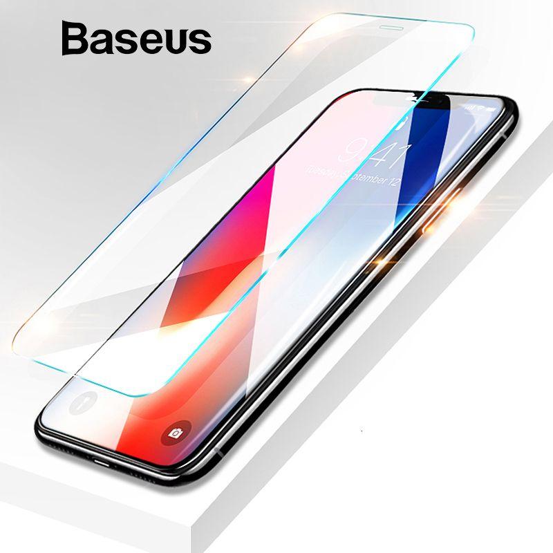 Baseus 0,15mm Super Dünne Screen Protector Für iPhone Xs Max Xs XR Glas Film 2018 Anti Blau Licht Gehärtetem glas Für iPhone X