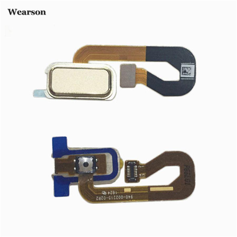 Für Lenovo Vibe P2 P2C72 P2A42 Fingerprint Sensor Touch ID Home Button Flexkabel-band FPC Geprüft Hohe qualität