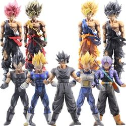 1 PC Dragon Ball Z Aksi Figur Super Saiyan Son Goku Vegeta 22-35 Cm Anime Master Koleksi Patung model Mainan untuk Anak # E