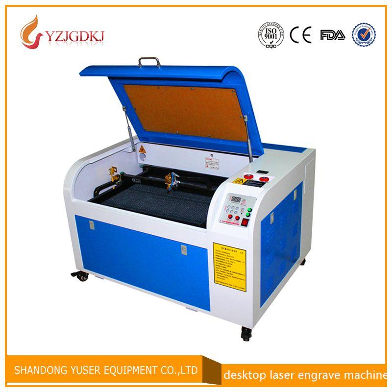 Machine de gravure laser 50 w/6040 220 V/110 V avec support USB machine de gravure laser CO2 en nid d'abeille