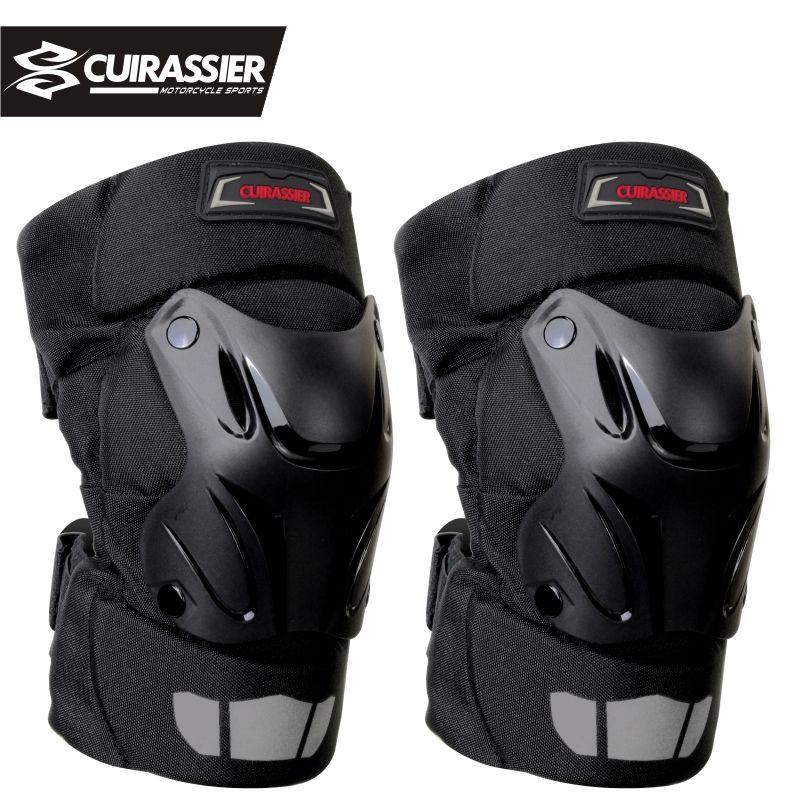 Genouillères moto protections Cuirassier coude course tout-terrain Protection genouillère Motocross Protection moto Protection