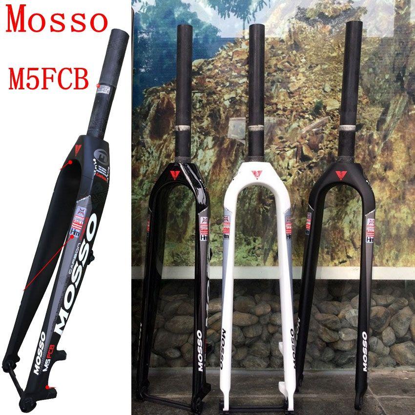 Carbon Fork Mosso M5FCB Bike Fork 26 27.5 29er Mosso Bicycle Carbon fork suspension front forks T700 hot selling 2018