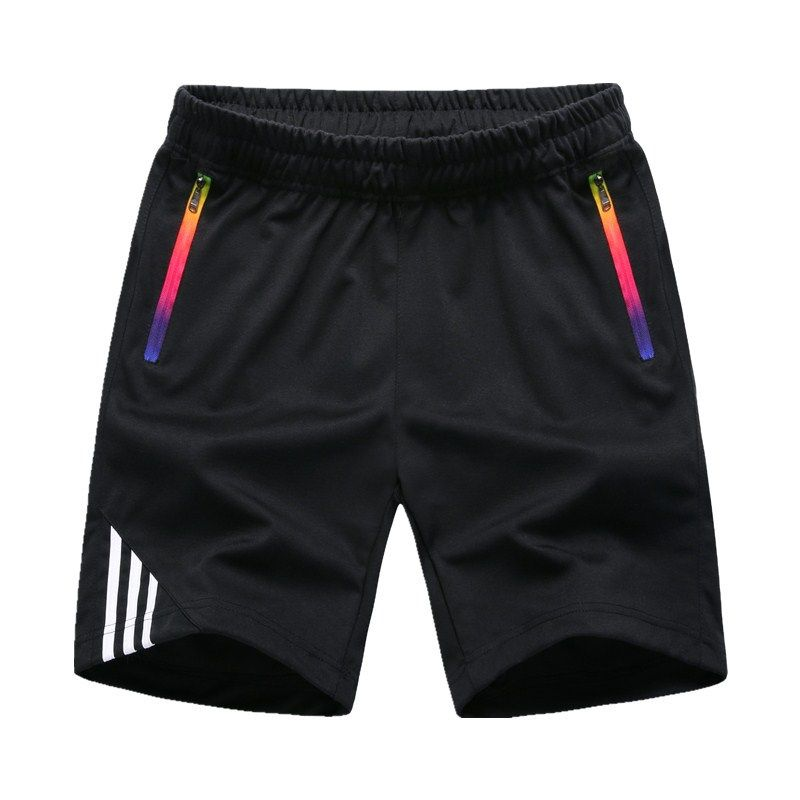 2019 summer large size straight loose solid color casual shorts XXS-3XL European size