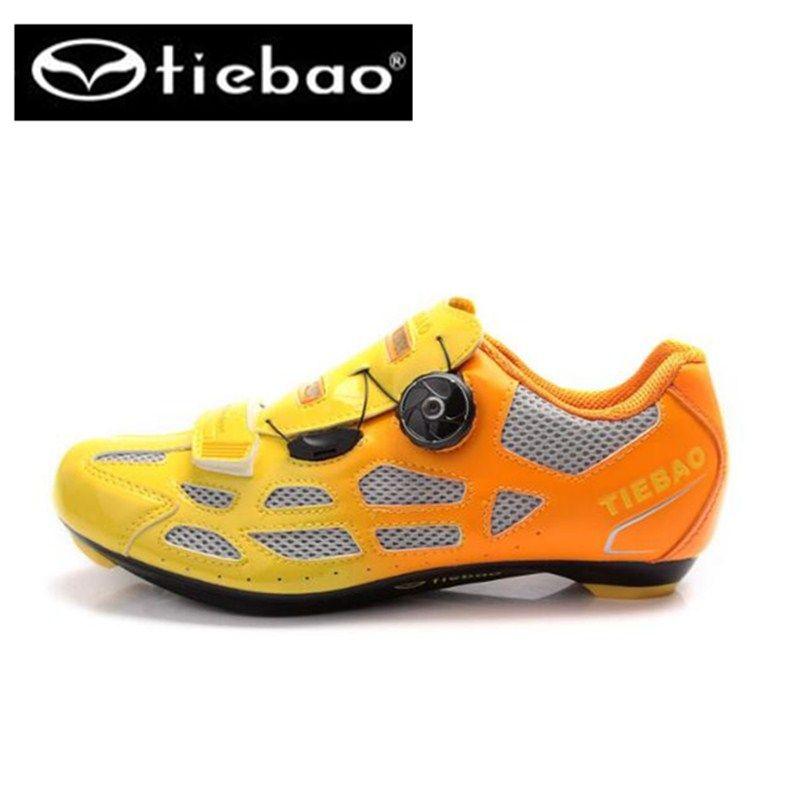 Tiebao Men Cycling Shoes Road Bike Bicycle Shoes Professional Athletic Self Lock Shoes bicicleta Zapatillas sapatilha Ciclismo