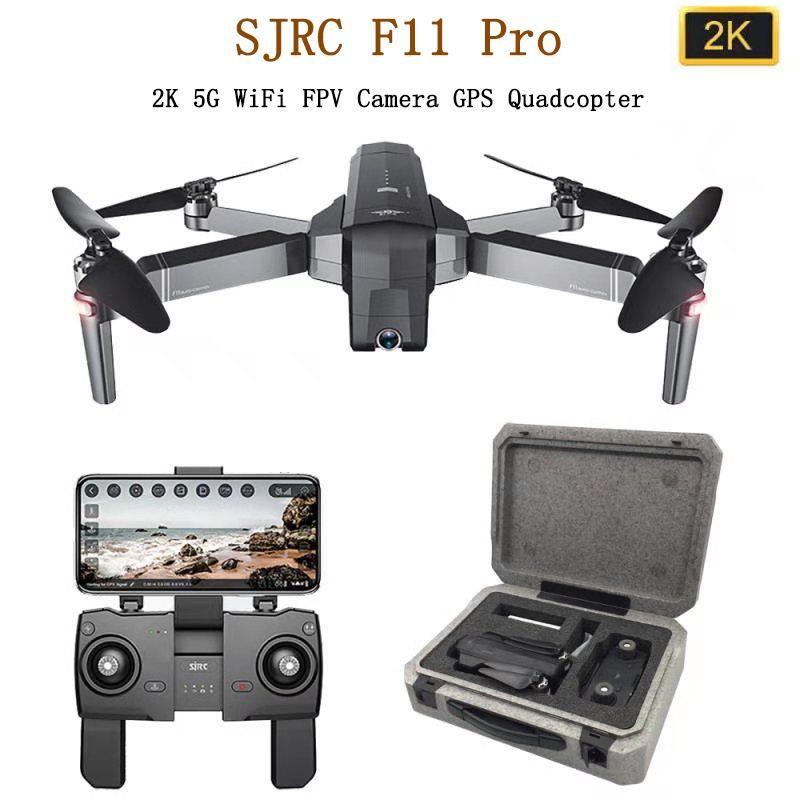 SJRC F11 PRO GPS Drone Mit 2KHD Wifi FPV Kamera/F11 1080P Bürstenlosen Quadcopter 25 minuten Flugzeit faltbare Eders Vs SG906