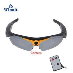Winait 720P 5.0MP Glasses Support Camera Video Remote Controller 170 Degree Wide-Angle Smart Electronics Sunglasses