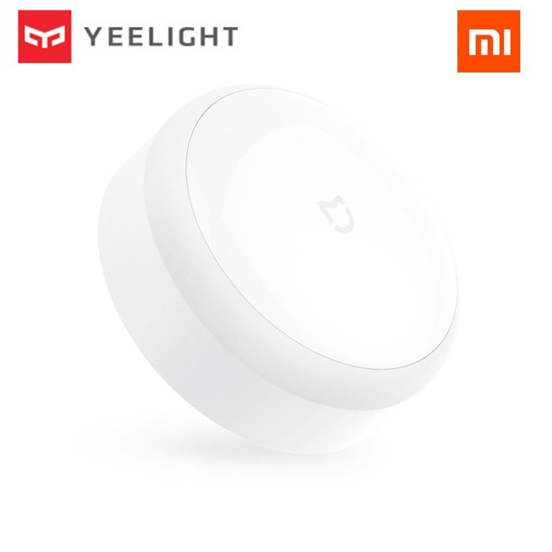 Original Xiaomi mijia Yeelight LED night light Infrared Remote Control <font><b>human</b></font> body Motion sensor For xiaomi Mi home Smart home