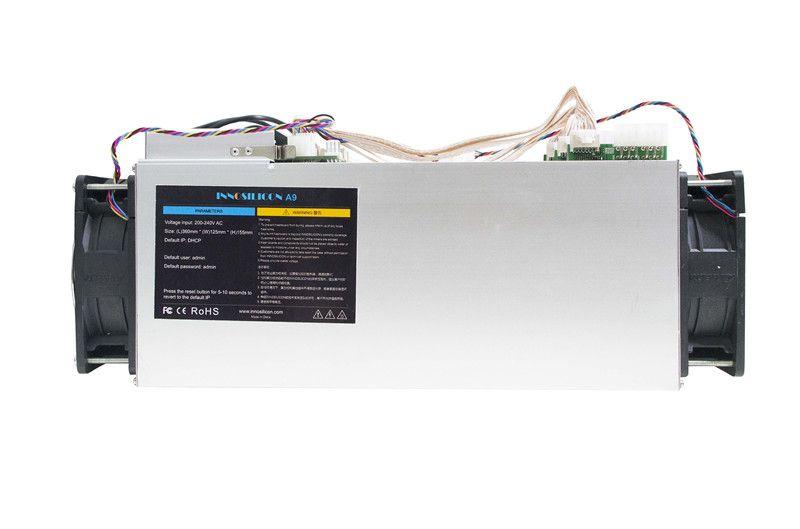 Verwendet Zcash Miner ZCL ZEC BTG Asic Bergbau Maschine Innosilicon A9 ZMaster 50 k sol/s Equihash Miner Mit 750 W Netzteil