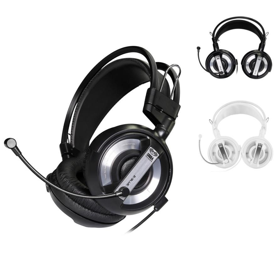 2018 E-3LUE 2.1m Professional Gaming Headset LED Light Earphone Headphone with Microphone for MP3/MP4 for Skype for cell phone