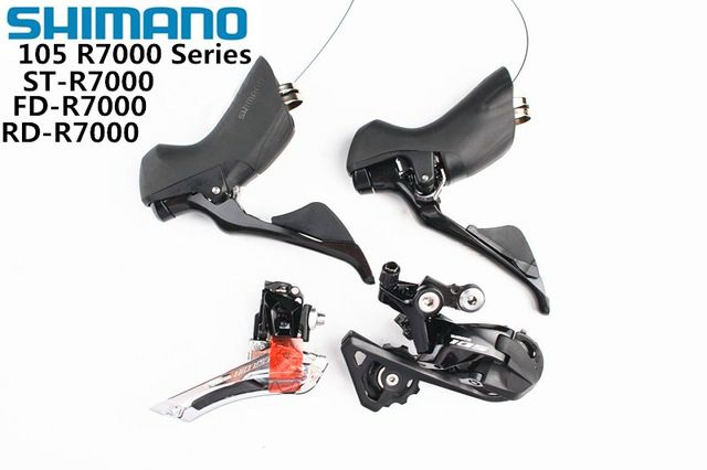 SHIMANO R7000 Groupset 105 R7000 Derailleurs ROAD Bicycle Front Derailleur + Rear Derailleur + Shifter update from 5800