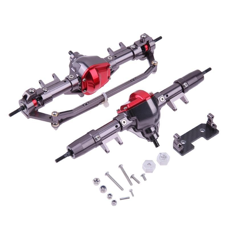 1:10 RC Crawler Truck Front Rear Axle Tire Drive Shaft for AXIAL SCX10 Car Parts for AXIAL SCX10 series Accessories
