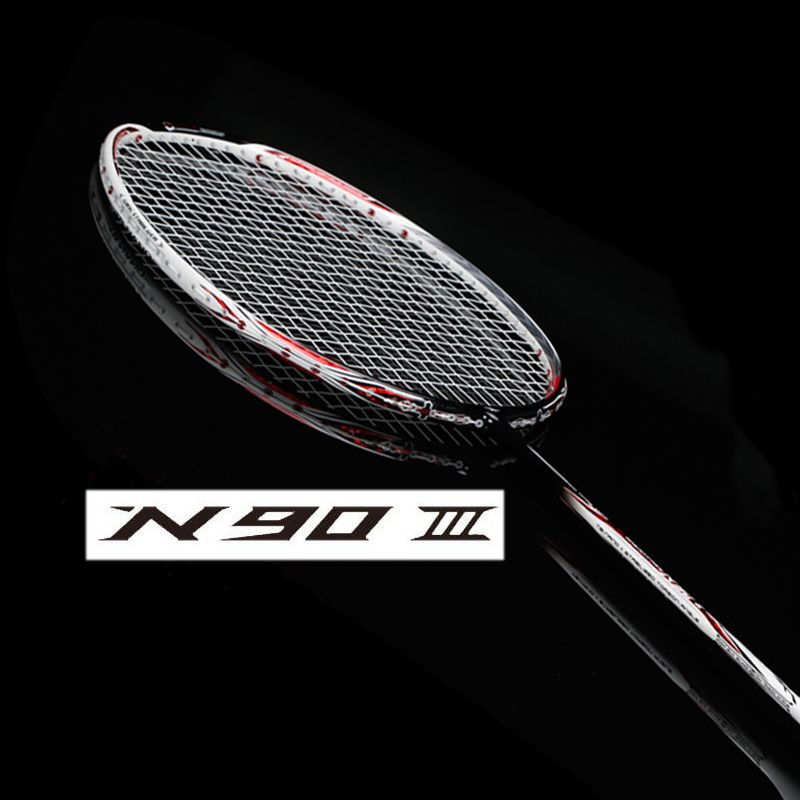 N90 III carbon badminton racket with string and overgrip n90 badminton racket n903