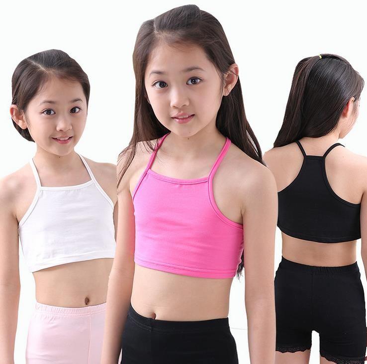 Mädchen bh leibchen mädchen baumwolle weste kind welt der tank mädchen underwear candy farbe mädchen tank tops kinder kleidung modelle