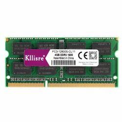 Kllisre DDR3L DDR3 4 ГБ 8 ГБ 1333 МГц 1600 SO-DIMM 1,35 V 1,5 V ОЗУ для ноутбука 204Pin ноутбук карта оперативной памяти