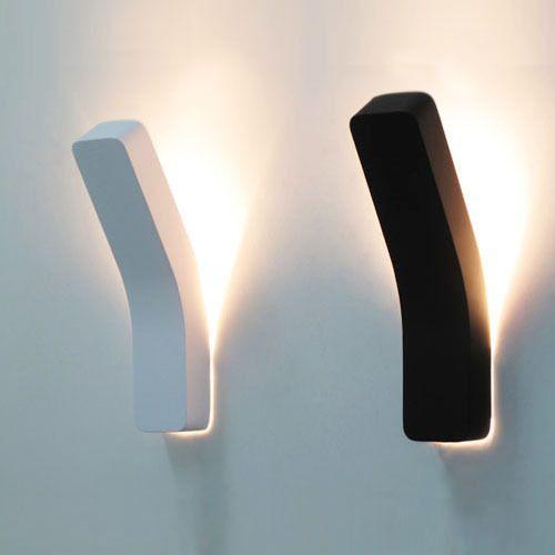 Moderne bref personnalisé boîte de fer chambre applique murale lampes maison déco creative 3 w LED télécommande mur luminaire