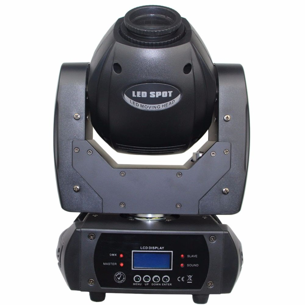 60W moving head mini spot LED moving head stage light dmx 12ch with prism