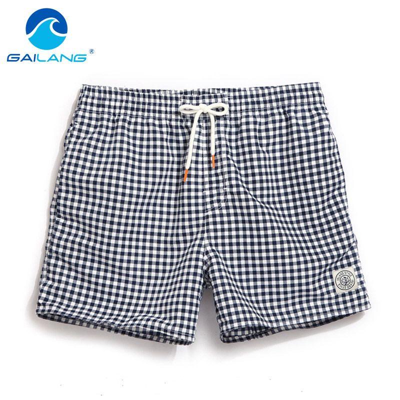 Gailang Brand Men's Quick Drying Beach Shorts Board Shorts Trunks Casual Active Shorts Jogger Swimwear Swimsuits Summer Bottoms