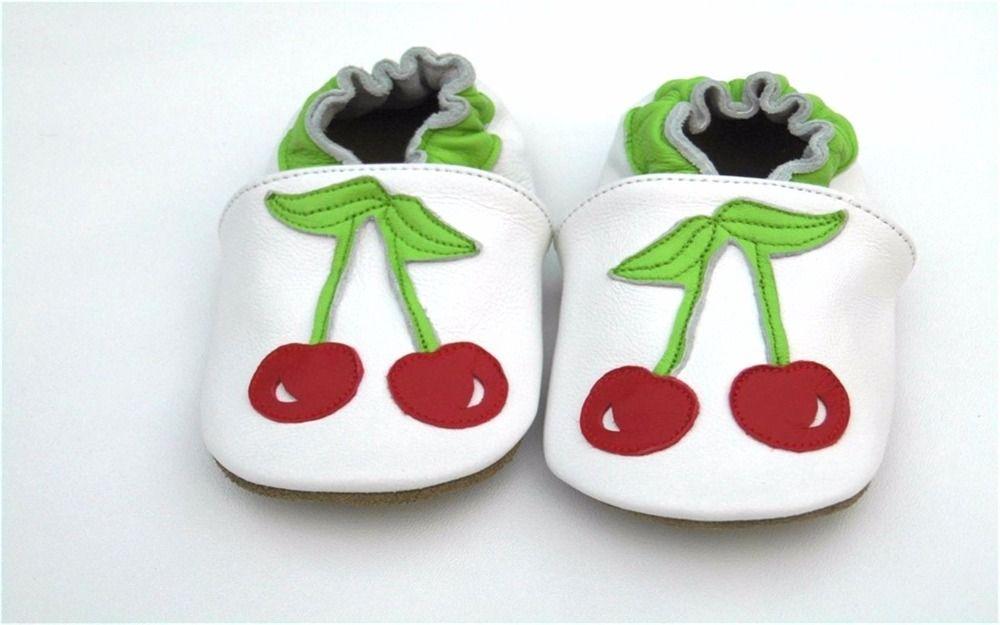 Garantizado 100% suaves zapatos de bebé De Cuero Genuino suela shoes1013 Envío Libre y envío de La Gota