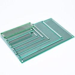 Nouveau 7x9 6x8 5x7 4x6 3x7 2x8 cm Double Side Prototype Diy Universal Printed Circuit Board PCB Protoboard Pour Arduino 4*6 6*8 5*7