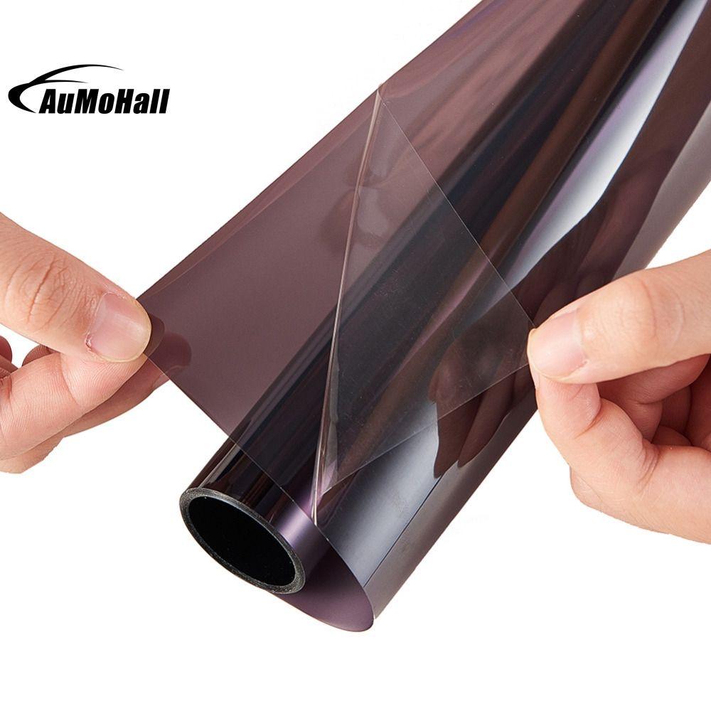 0.5*3m Light Gray uv+insulation Car Window Tint Film VLT 45% 2 ply Solar Protection Film