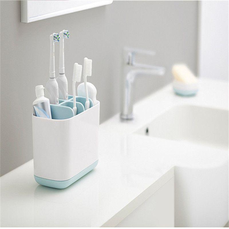 Toilet Toothpaste Wash Set Electric Toothbrush Bathroom Shelf Kitchen Soap Cleaning Brush Storage Toilet Organizer