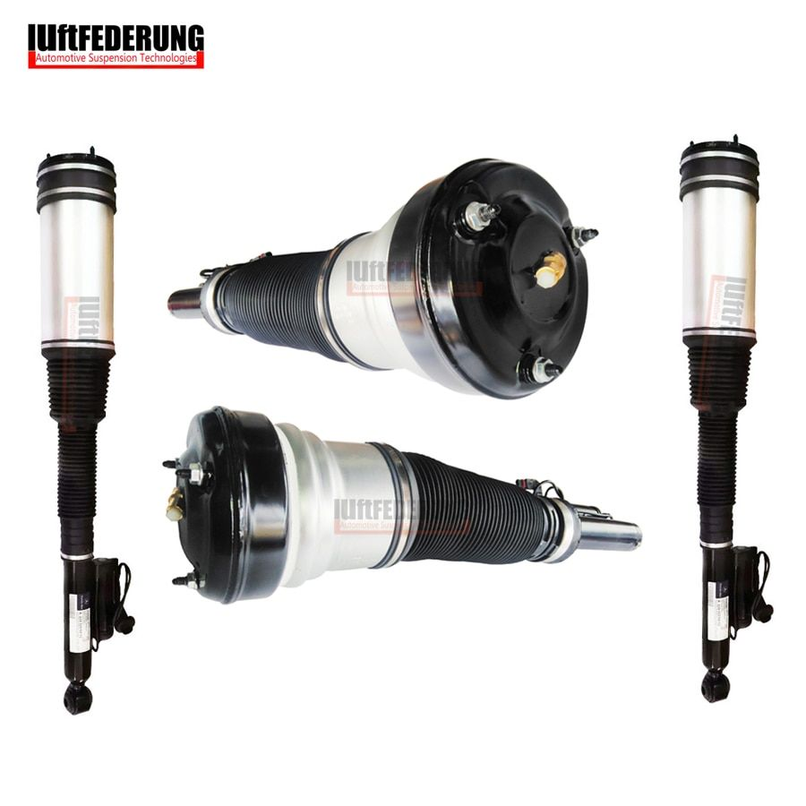Luftfederung 4PCS Mercedes W220 S-Class Front and Rear Air Spring Shock Absorber Suspension Air Ride 2203202438 2203205013