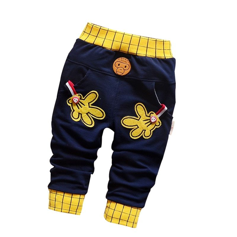 Весна 2016 и Новинка осени штанишки для малышей со звездами и буквами узор хлопок 1 шт. спортивные штаны для маленьких мальчиков штаны для дево...
