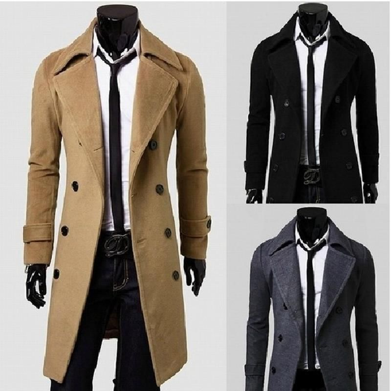 2017 cholyl nuevos hombres adelgazan diseñado Bape chaqueta de lana otoño e invierno marca hombres lana abrigo de lana para hombre, f02